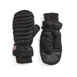 Women's Canada Goose Lightweight Quilted Mittens, Size Small - Black found on Bargain Bro Philippines from LinkShare USA for $150.00