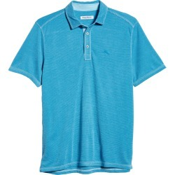 Men's Tommy Bahama Paradiso Cove Short Sleeve Polo, Size X-Large - Blue found on Bargain Bro from Nordstrom for USD $75.62