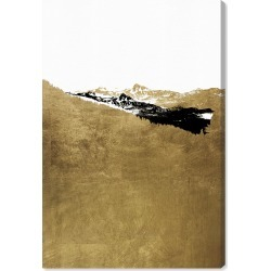 Oliver Gal Golden Hike Canvas Wall Art