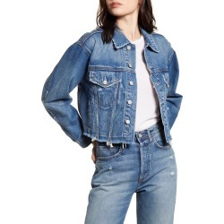 Women's Boyish Jeans The Harvey Denim Jacket, Size Small - Blue found on Bargain Bro India from Nordstrom for $188.00