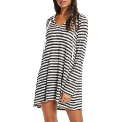 Women's La Blanca Slouchy Hooded Sweater Cover-Up Tunic, Size X-Small - Black (Nordstrom Exclusive) found on Bargain Bro Philippines from LinkShare USA for $69.00