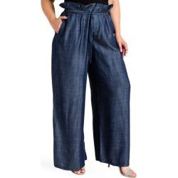 Plus Size Women's Standards & Practices Cleo Wide Leg Pants