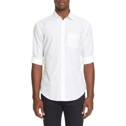 Men's John Varvatos Slim Fit Sport Shirt, Size XX-Large - White found on MODAPINS from Nordstrom for USD $228.00