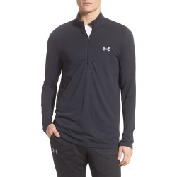 Men's Under Armour Seamless Half-Zip Pullover, Size Small - Black found on Bargain Bro India from Nordstrom for $60.00