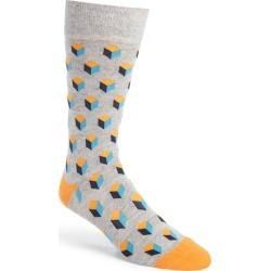 Men's Fun Socks Crew Socks, Size One Size - Grey found on MODAPINS from Nordstrom for USD $7.20