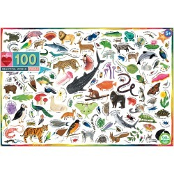 Eeboo Beautiful World 100-Piece Puzzle found on Bargain Bro India from Nordstrom for $15.00