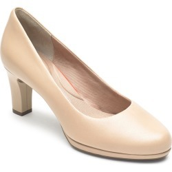 Women's Rockport Total Motion Leah Pump, Size 8.5 M - Beige found on Bargain Bro India from Nordstrom for $99.95