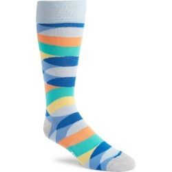 Men's Fun Socks Patterned Tall Socks, Size One Size - Blue found on MODAPINS from Nordstrom for USD $12.00