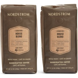 Nordstrom Ethically Sourced House Blend 2-Pack Whole Bean Coffee found on Bargain Bro Philippines from Nordstrom for $27.90