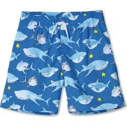 Toddler Boy's Stella Cove Shark Print Swim Trunks, Size 4Y - Blue found on Bargain Bro India from Nordstrom for $55.00