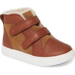 Toddler Boy's UGG Rennon High Top Sneaker, Size 6 M - Brown found on Bargain Bro Philippines from Nordstrom for $55.00