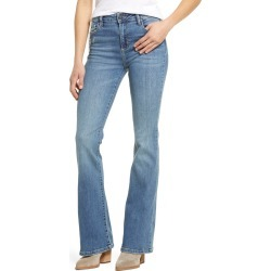Women's Hidden Jeans Classic High Waist Flare Leg Jeans, Size 26 - Blue found on Bargain Bro Philippines from Nordstrom for $85.00