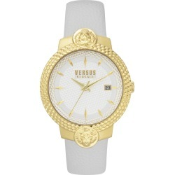 Women's Versus Versace Mouffetard Leather Strap Watch, 38Mm found on Bargain Bro Philippines from Nordstrom for $185.00