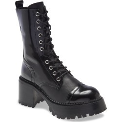 Women's Jeffrey Campbell Locust Combat Boot, Size 6.5 M - Black found on MODAPINS from Nordstrom for USD $229.95