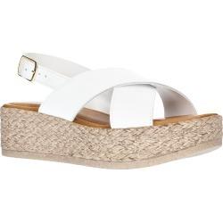Women's Bella Vita Mar Platform Sandal, Size 8 M - White found on Bargain Bro Philippines from Nordstrom for $44.98