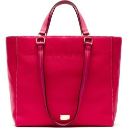 Frances Valentine Tumbled Leather Tote - Pink found on Bargain Bro India from LinkShare USA for $398.00