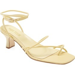 Women's Paris Texas Betty Ankle Strap Sandal, Size 11US - Yellow found on Bargain Bro Philippines from Nordstrom for $312.00