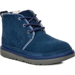 Toddler Boy's UGG Neumel Ii Tasman Genuine Shearling Chukka Boot, Size 7 M - Blue found on Bargain Bro India from Nordstrom for $89.95
