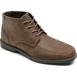 Men's Rockport Taylor Waterproof Leather Chukka Boot, Size 11.5 M - Brown found on Bargain Bro from Nordstrom for USD $98.80