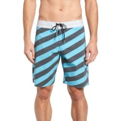 Men's Volcom Stripey Stoney Boardshorts, Size 30 - Blue found on MODAPINS from Nordstrom for USD $55.00