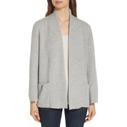 Women's Eileen Fisher Cashmere Blend Kimono Cardigan, Size Small - Grey