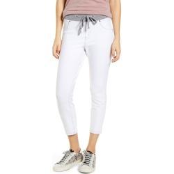 Women's Hue Denim Capri Sweatpants, Size Medium - White found on MODAPINS from Nordstrom for USD $40.00