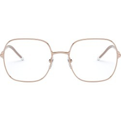 Women's Prada 54mm Rectangle Optical Glasses - Pink Gold found on MODAPINS from Nordstrom for USD $328.00
