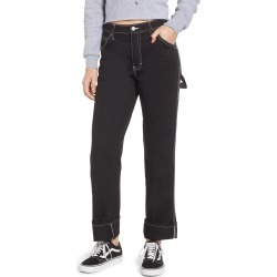 Women's Dickies Relaxed Fit Carpenter Pants, Size 11 - Black found on Bargain Bro India from Nordstrom for $59.00