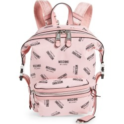 Moschino Small Logo Backpack - Pink found on Bargain Bro India from LinkShare USA for $417.00