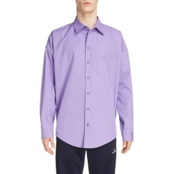 Men's Balenciaga Long Sleeve Button-Up Cocoon Shirt found on MODAPINS from Nordstrom for USD $895.00