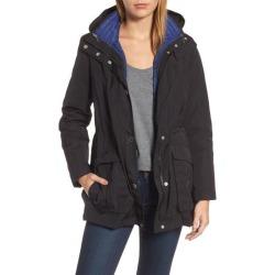 Women's London Fog Hooded 3-In-1 Anorak, Size X-Large - Blue