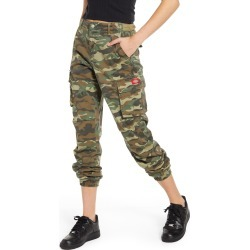 Women's Dickies Camo Cargo Utility Jogger Pants, Size 1 - Green found on Bargain Bro India from Nordstrom for $65.00