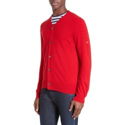 Men's Comme Des Garcons Play Wool Cardigan found on MODAPINS from Nordstrom for USD $380.00