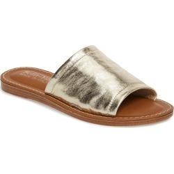 Women's Bella Vita Ros Slide Sandal, Size 6.5 W - Metallic found on Bargain Bro Philippines from LinkShare USA for $79.95