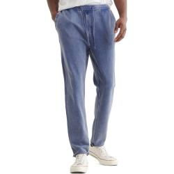 Men's Lucky Brand Raw Hem Sweatpants, Size Medium - Blue found on MODAPINS from Nordstrom for USD $69.50