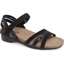 Women's Munro Summer Sandal, Size 11 WW - Black found on MODAPINS from Nordstrom for USD $179.95