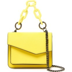 Botkier Mini Cobble Hill Leather Crossbody Bag - Yellow found on Bargain Bro India from LinkShare USA for $198.00