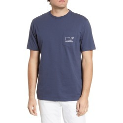 Men's Vineyard Vines Whale Pocket T-Shirt, Size Medium - Blue