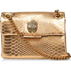 Kurt Geiger London Mini Kensington Metallic Snake Embossed Leather Shoulder Bag - found on MODAPINS from LinkShare USA for USD $165.00