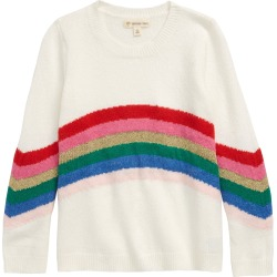 Toddler Girl's Tucker + Tate Rainbow Stripe Sweater, Size 2T - Ivory found on Bargain Bro Philippines from Nordstrom for $39.00