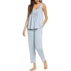 Women's Papinelle Flutter Pleat Stretch Modal Pajamas found on MODAPINS from Nordstrom for USD $44.98