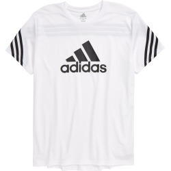 Boy's Adidas Pack Graphic Tee, Size L - White