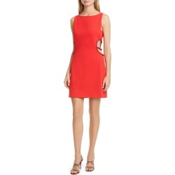 Women's Haney Roselyn Cutout Cocktail Dress, Size 12 - Red found on Bargain Bro Philippines from LinkShare USA for $294.00