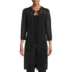 Women's Anne Klein Mesh Knit Duster Cardigan found on MODAPINS from Nordstrom for USD $119.00