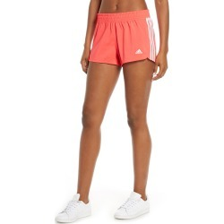 Women's Adidas 3-Stripes Climalite Woven Shorts, Size X-Large - Red found on Bargain Bro India from Nordstrom for $25.00