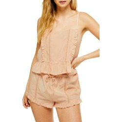 Women's Topshop Frill Lace Pajamas found on MODAPINS from Nordstrom for USD $50.00