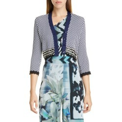 Fuzzi Patterned Crop Cardigan at Nordstrom Rack found on MODAPINS from Nordstrom Rack for USD $590.00