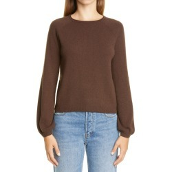 Women's Co Raglan Sleeve Cashmere Peasant Sweater, Size Small - Brown found on Bargain Bro from Nordstrom for USD $418.00