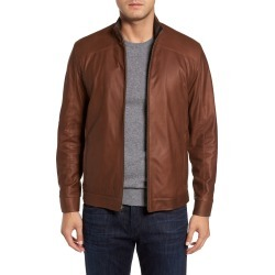 Men's Remy Leather Leather Jacket, Size 40R - Brown found on MODAPINS from Nordstrom for USD $1195.00