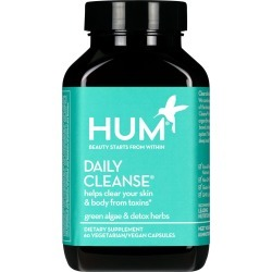 Hum Nutrition Daily Cleanse Clear Skin And Body Detox Dietary Supplement